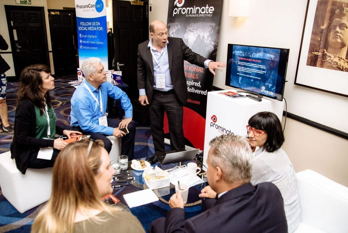 Prominate at Procurement Marketing Conference 2018