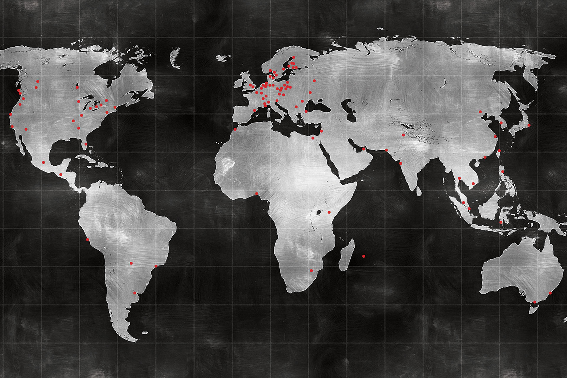 Over 70 Offices Worldwide
